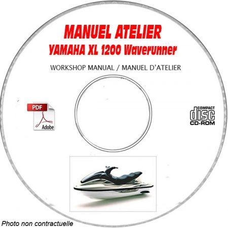 XL 1200 WAVERUNNER -97  Manuel Atelier CDROM YAMAHA Anglais