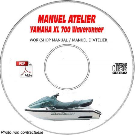 XL 700 WAVERUNNER - Manuel Atelier CDROM YAMAHA Anglais