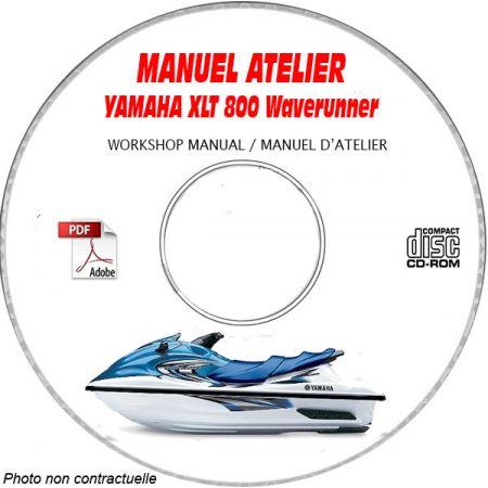 XLT 800 WAVERUNNER 02 Manuel Atelier CDROM YAMAHA Revue technique