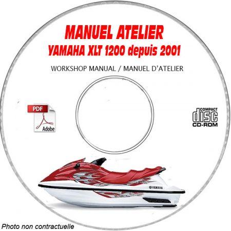 MANUEL D'ATELIER XLT 1200 WAVERUNNER