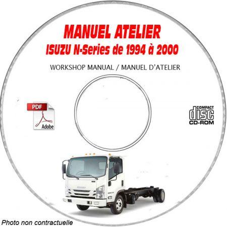 N-SERIES 94-00 Manuel Atelier CDROM ISUZU Anglais