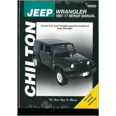 Wrangler Petrol 87-11 Revue Technique Haynes Chilton JEEP Anglais
