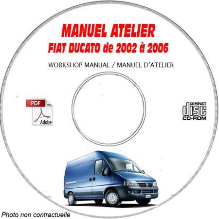DUCATO Manuel Atelier CDROM FIAT