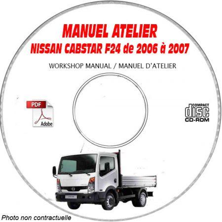 CABSTAR F24 - Manuel Atelier CDROM NISSAN ESP