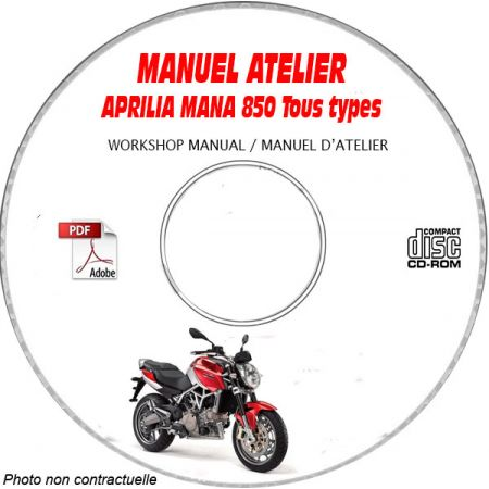 NA 850 MANA -07 Manuel Atelier CDROM APRILIA FR