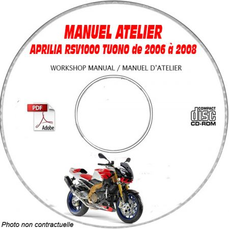 MANUEL D'ATELIER RSV 1000 TUONO + R-FACTORY 2006