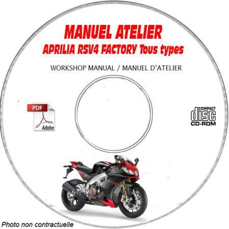 MANUEL D'ATELIER RSV4 FACTORY 2009