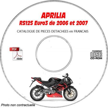 RS125 06-07 - Catalogue Pieces CDROM APRILIA Anglais