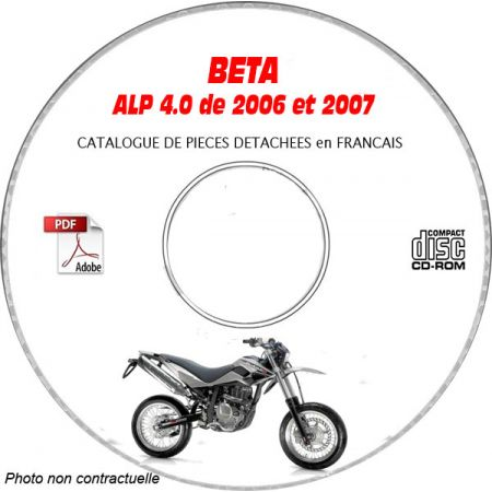 ALP 4.0 06-07 - Catalogue Pieces CDROM BETA FR