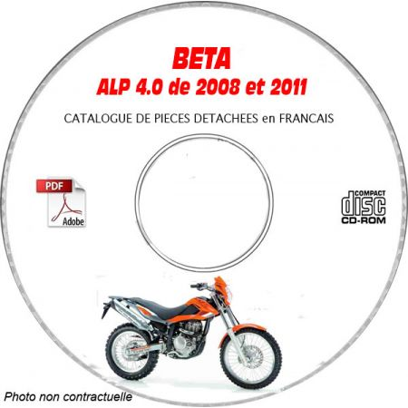 ALP 4.0 08-11 - Catalogue Pieces CDROM BETA FR