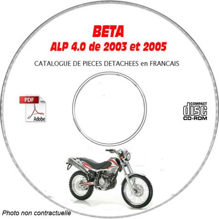 ALP 4.0 03-05 - Catalogue Pieces CDROM BETA FR