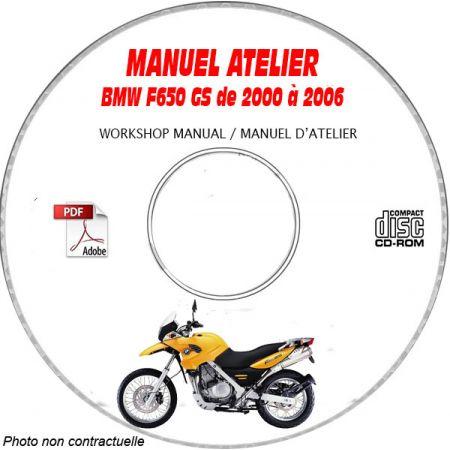 F650 GS 07-11 Manuel Atelier CDROM BMW