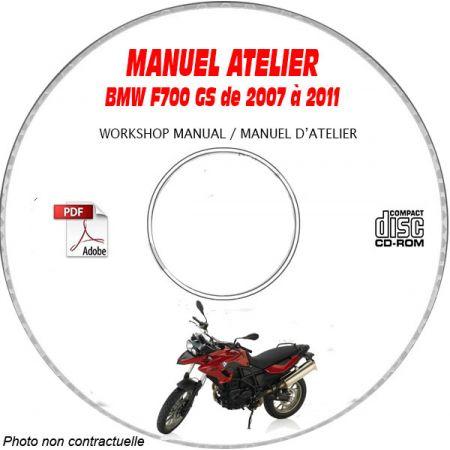 F700 GS 07-11 - Manuel Atelier CDROM BMW FR