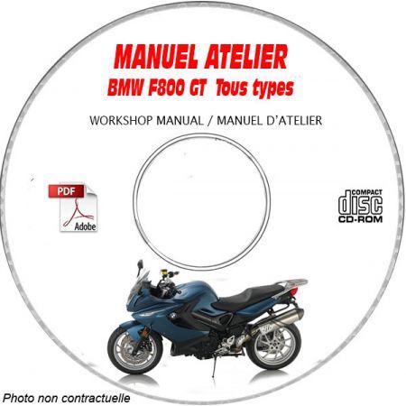 F 800 GT -13 Manuel Atelier CDROM BMW