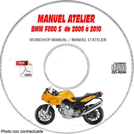 F800 S 07-10 Manuel Atelier CDROM BMW