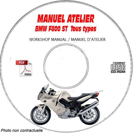 F800 ST 07-10 Manuel Atelier CDROM BMW