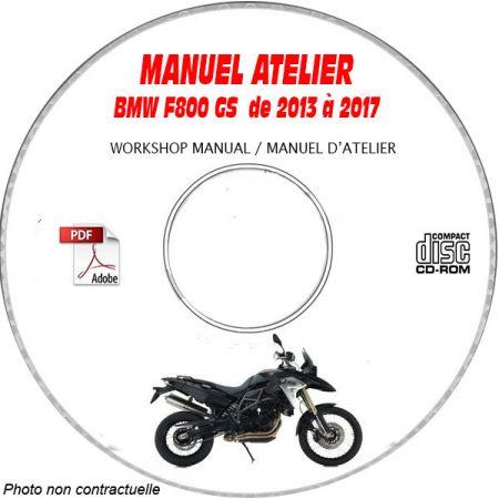 F800 GS 13-17 Manuel Atelier CDROM BMW