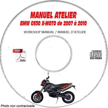 G650 XMoto 07-10 Manuel Atelier CDROM BMW