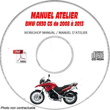 G650 GS 08-13 Manuel Atelier CDROM BMW