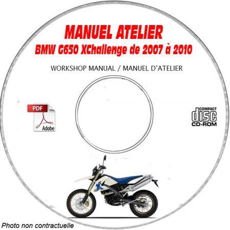 G650 XChallenge 07-10 Manuel Atelier CDROM BMW