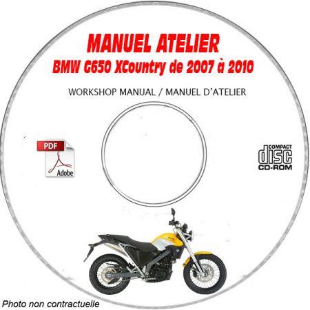 G650 XCountry 07-10 Manuel Atelier CDROM BMW