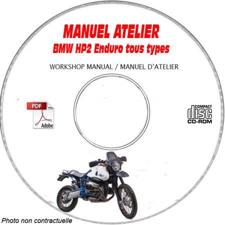 HP2 Enduro -07 Manuel Atelier CDROM BMW