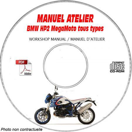 HP2 Megamoto -07 Manuel Atelier CDROM BMW