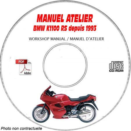 K1100 RS 93-99 Manuel Atelier CDROM BMW
