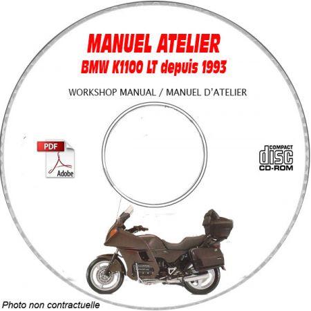 K1100 LT 93-99 Manuel Atelier CDROM BMW Revue technique