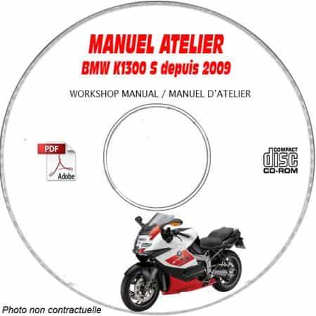 K1300 S 09-11 Manuel Atelier CDROM BMW