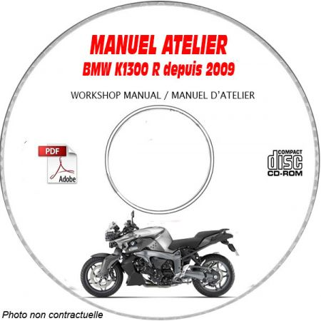 K1300 R 09-11 Manuel Atelier CDROM BMW