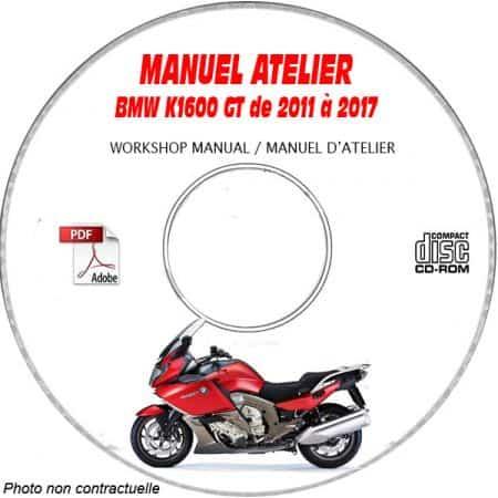 K1600 GT -13 Manuel Atelier CDROM BMW