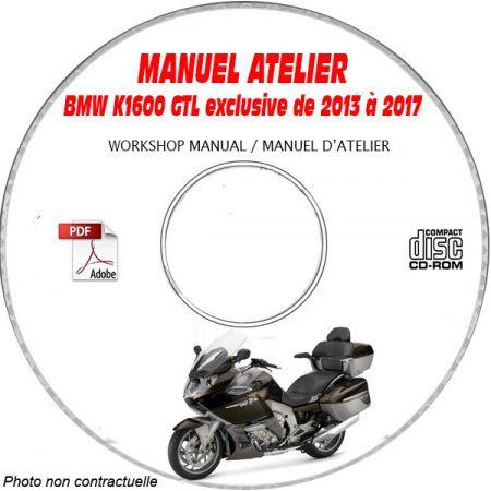K1600 GTL exclu 13-17 Manuel Atelier CDROM BMW