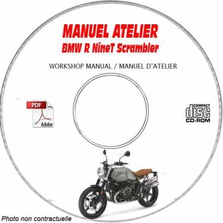 R nineT Scrambler -17 Manuel Atelier CDROM BMW