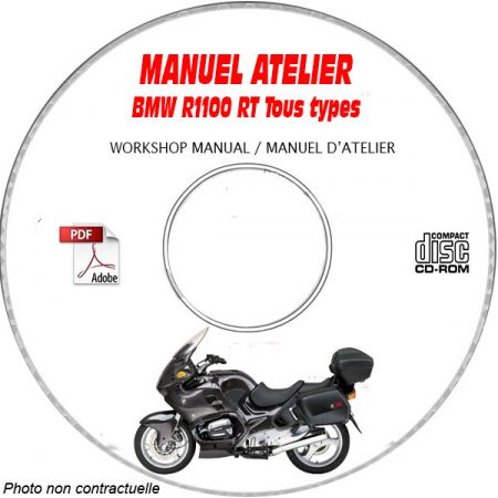 R1100 RT -99 Manuel Atelier CDROM BMW Revue technique
