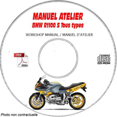 R1100 S -99 Manuel Atelier CDROM BMW