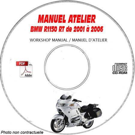 R1150 RT 01-06 - Manuel Atelier CDROM BMW