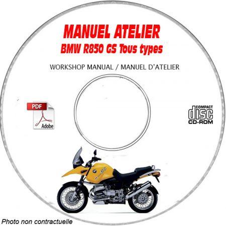 R850 GS -99 Manuel Atelier CDROM BMW