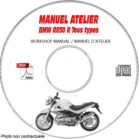 R850 R -99 Manuel Atelier CDROM BMW