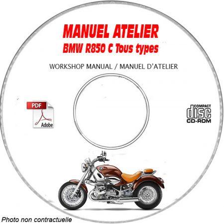 R850 C -99 Manuel Atelier CDROM BMW Anglais
