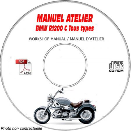 R1200 C -99 Manuel Atelier CDROM BMW