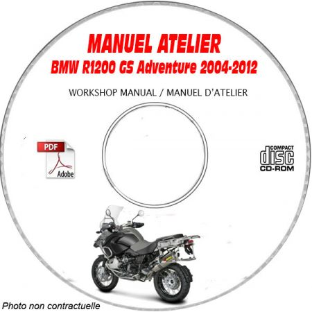 R1200 GS Adventure -07 Manuel Atelier CDROM BMW