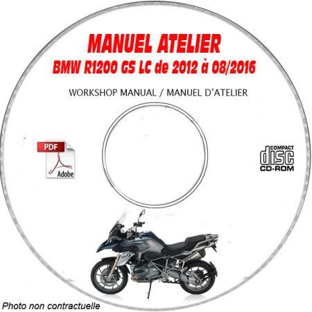 R1200 GS Adventure 05-13 Manuel Atelier CDROM BMW