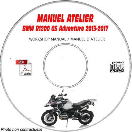 R1200 GS Adventure 10-12 Manuel Atelier CDROM BMW