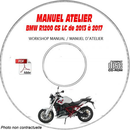 R1200 GS K50 13 Manuel Atelier CDROM BMW