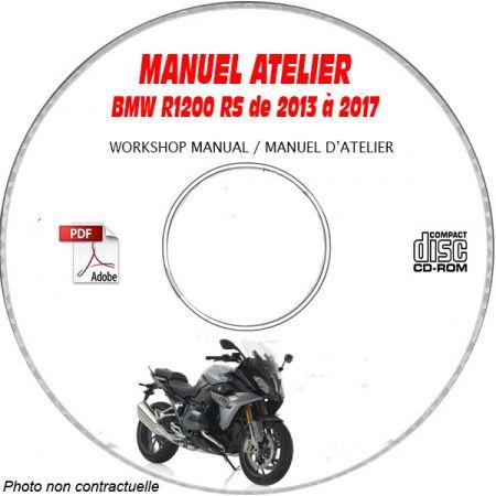 R1200 RS 14-17 Manuel Atelier CDROM BMW