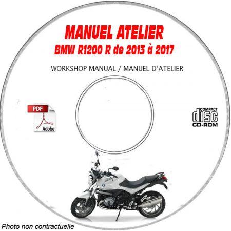 R1200 R 13-17 Manuel Atelier CDROM BMW