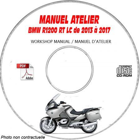 R1200 RT -07 Manuel Atelier CDROM BMW