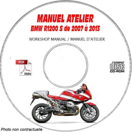 R1200 S -07 Manuel Atelier CDROM BMW