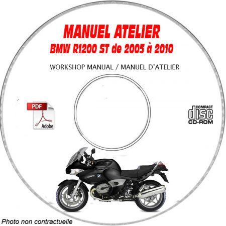 R1200 ST -07 Manuel Atelier CDROM BMW